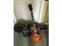 Electric Guitar and Practice amp ideal for beginner