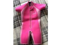 Toddler pink girls wet suit. 1-2 years JoJo Maman Bebe
