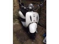 2011 Lexmoto Tommy 125cc Scooter, Moped, Twist & Go, Learner Legal. Project