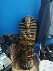 Egyptian sarcophagus CD holder