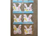 Easter Bunny Paper Mask & Ears 4 Pack for sale  Oldham, Manchester