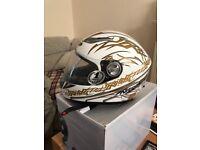 Motorbike helmet nitro racing size m