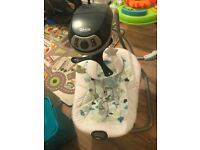 Graco Simple Sway Swing in Dreams