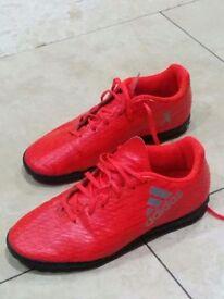 Adidas AstroTurf football boots size 4