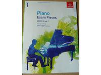 ABRSM Piano Exam Pieces Grade 1 (2015 & 2016 syllabus)