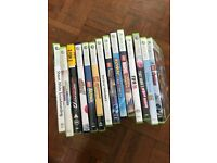 Xbox 360, two controllers, Kinect and 14 Xbox 360 games