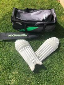 Cricket Bag, Pads and Bat Cover
