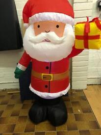 Light up inflatable Santa