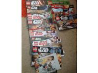 Lego instructions inc Star Wars and Ninjago
