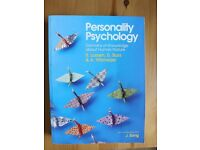 Personality Psychology textbook - Invidividual Differences Textbook. Never used.