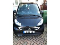 Smart fortwo coupe 71 mhd passion 1 Owner LOW MILEAGE, Sat NAV, 2012