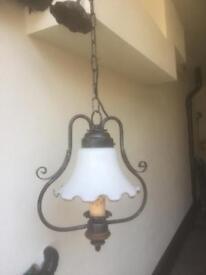 Antique design ceiling light