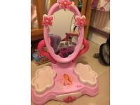 Barbie vanity mirror