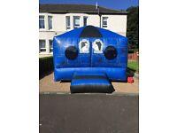 Bouncy castle , hot tub , mascot , face paint