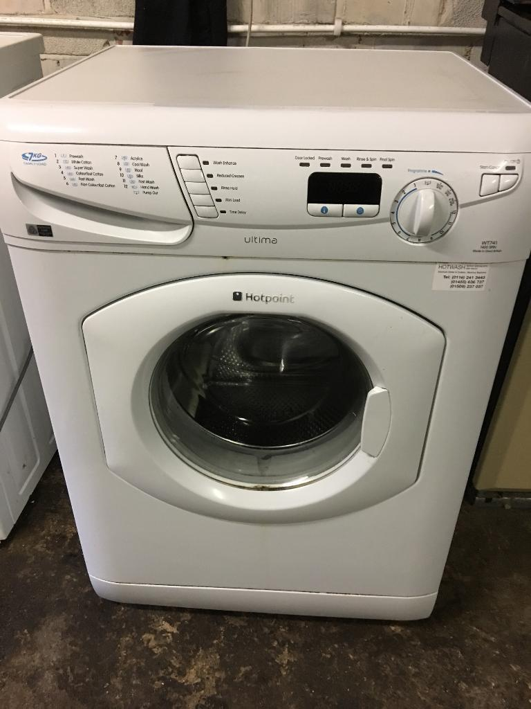 Hot point washing machine ultima 7kg family load