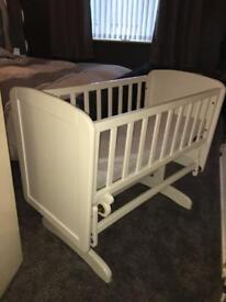 Baby's gliding crib for sale