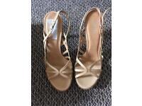 Faith Ladies Sandals - Nude