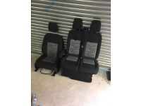 Ford transit custom drivers and passenger sport seats