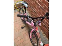 Girls bike 20 inch wheels