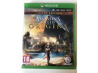Assassins creed origins Xbox one with DLC
