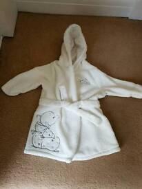 Humphreys corner dressing gown 0-6 months