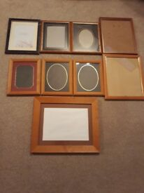 Selection of photo frames
