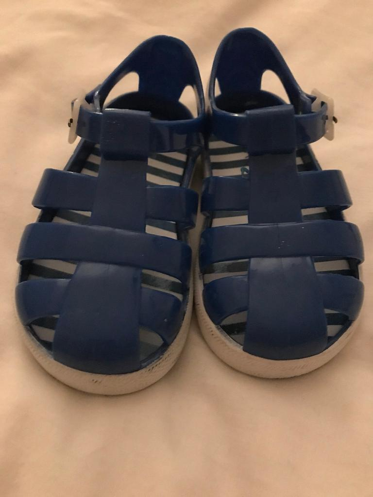 Jelly sandals - infant size 6