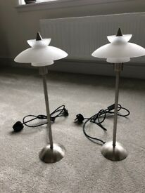 Pair of Bedside Table lamps.