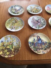 Cicely flower fairy plates