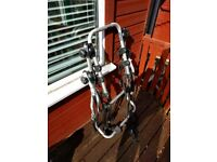 Rear mounted 3-bike bicycle rack, complete and in good condition