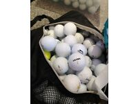 100 practice golf balls grade A and b no old totties