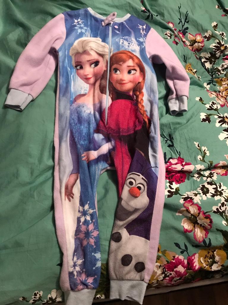 Frozen onesie age 5-6
