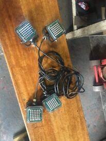 x4 Digital LED front recover lights 10-30v
