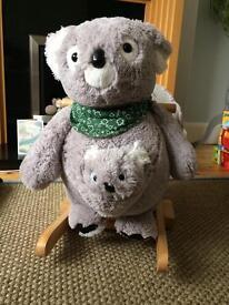 Rock my baby koala and Joey