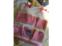 Baby diaper stacker 5 pockets