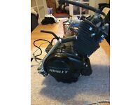 Honley HD3 SE 50cc Engine - 8524 miles - Like Yamaha YBR engine