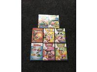 Disney 8 x DVD's