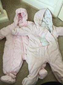 Reduced bundle of girls clothes