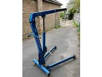 DRAPER 1 TONNE FOLDING ENGINE CRANE ..QUICK SALE..