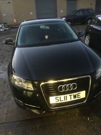 Audi A3 4 door 65k service history long MOT first to see will buy usual age related marks