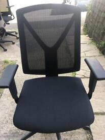 Computer chairs x 8