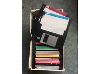 50 3.5 floppy disks. Used