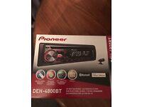 Pioneer DEH-4800BT Car Stereo/Head Unit