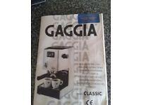 Gaggia Classic espresso coffee machine. Perfect working order...