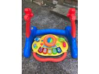 Vtech baby walker and activity centre