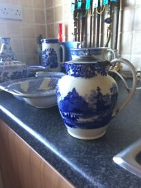 Blue Willow Antique China