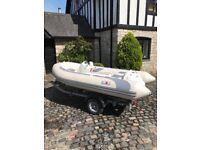 Avon seasport 320 jet rib 105hp 4stroke !! Jet boat / speed boat