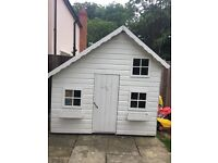 Two Storey Wooden Playhouse