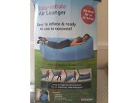 Air Lounger ... Easy inflate