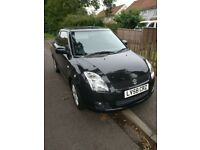 Suzuki Swift - 2008, 1.6, 44000 miles. M.O.T due July 2019